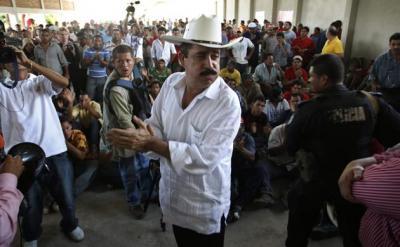 REVUELTA EN HONDURAS