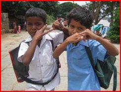 ACCESO A LA EDUCACIÓN EN HAMPI (India)