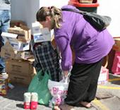 Repartimos más de 2.580 toneladas de alimentos entre la población vulnerable de la Comunidad de Madrid