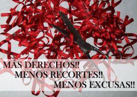 Menos recortes, menos excusas, ¡más derechos!: campaña 2.0 del Comitè 1r de Desembre